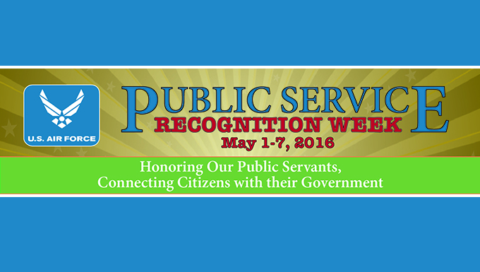 Public service week honors civilian contributions to AF