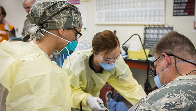 Dover reservists provide medical care